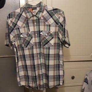 Patagonia men's medium organic shirt